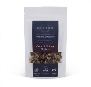 Superfoodio Sweet Clusters - Cacao Quinoa