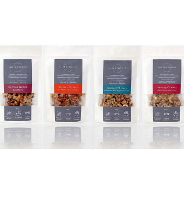 Sweet & Savoury Clusters Mix Pack (135g x4)