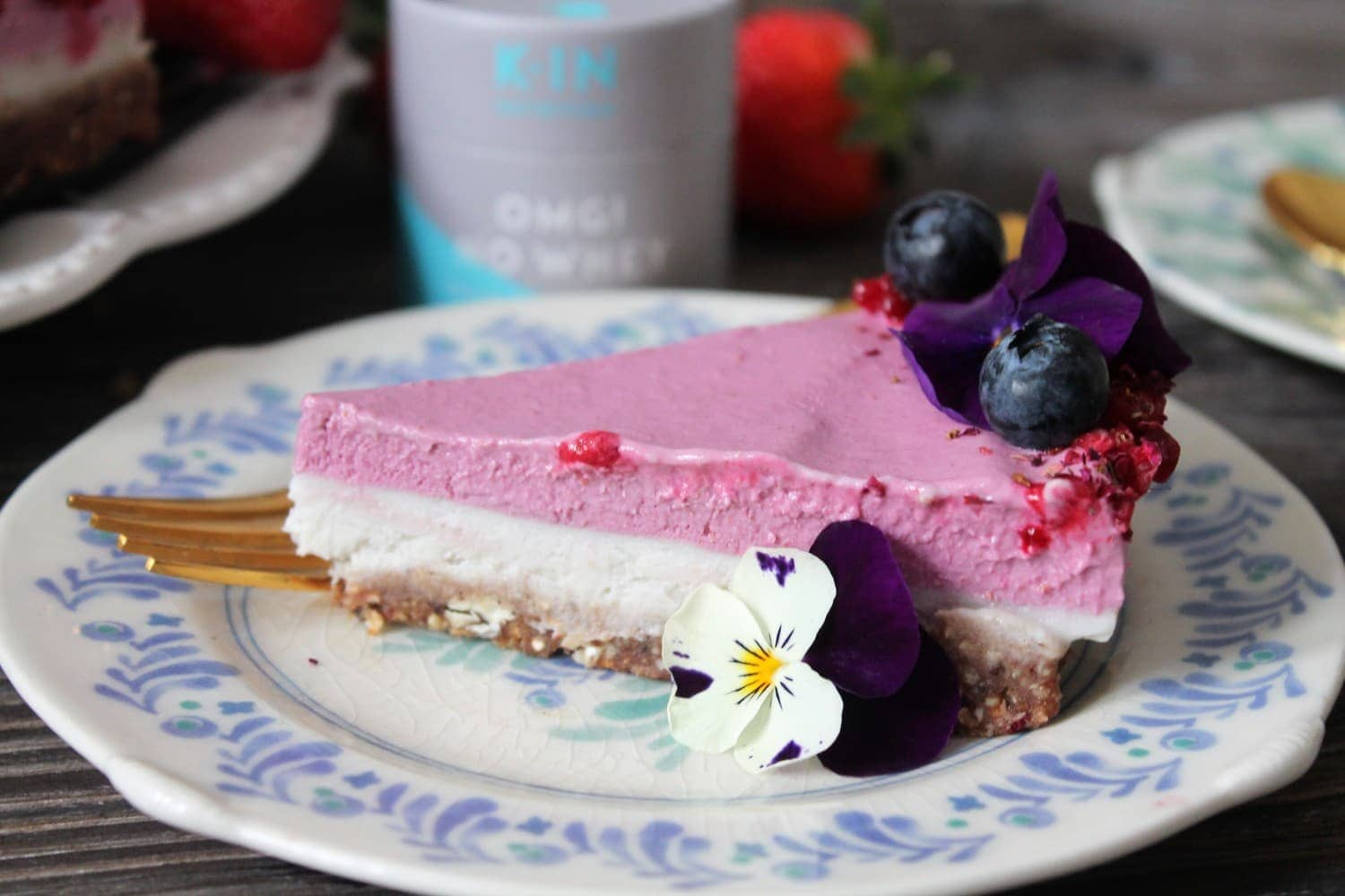 Superfoodio Protein Cheesecake recipe
