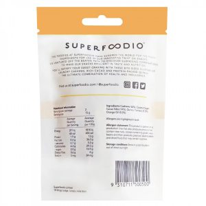 Superfoodio - Chocolate Orange - Back of Pack