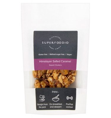Superfoodio Sweet Clusters - Himalayan Salted Caramel
