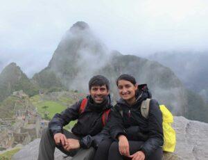 Nirali & Jag on the Inca Trail